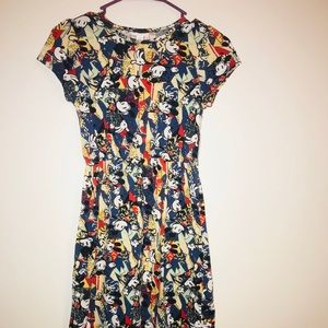 Disney lularoe size 12 Mickey Mouse dress like new